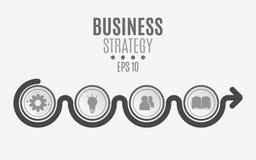 De elementen van infographics zijn zwart voor uw projecten Document cirkels, banners met Webpictogrammen Bedrijfsproject Royalty-vrije Stock Foto's
