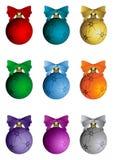 De elementen van Kerstmis - reeks Royalty-vrije Stock Afbeeldingen