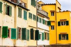 De elementen van Pontevecchio, Florence, Italië Stock Foto