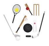 De elementen van sporten Royalty-vrije Stock Fotografie