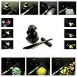 De elementen van Zen Stock Afbeeldingen