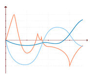 De elementendiagrammen van de bedrijfsgegevensmarkt Royalty-vrije Stock Afbeelding