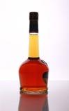 De elitecognac van de fles Royalty-vrije Stock Afbeeldingen