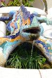De elpark van Barcelona GÃ ¼ Royalty-vrije Stock Afbeeldingen