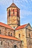 De Elzas, de schilderachtige stad van Rosheim royalty-vrije stock afbeelding