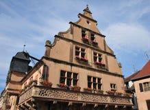De Elzas, het schilderachtige dorp van Molsheim royalty-vrije stock afbeeldingen