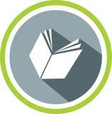 De emblemen en het malplaatje van het boekbeeld Stock Afbeelding