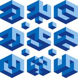 De emblemen van Borg Stock Afbeeldingen