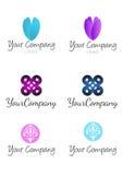 De Emblemen van de bloem Stock Afbeelding
