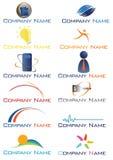 De emblemen van het bedrijf Stock Afbeeldingen