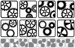 De Emblemen van het radertje Stock Afbeelding