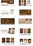 De emblemen van het restaurant Royalty-vrije Stock Afbeelding