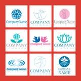 De Emblemen van Wellness Royalty-vrije Stock Foto