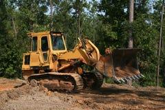 De Emmer van de bulldozer Stock Foto