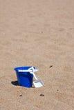 De emmer van het zand Royalty-vrije Stock Afbeelding