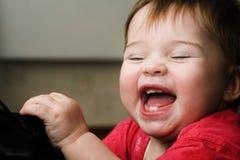 De emoties van de baby Stock Foto