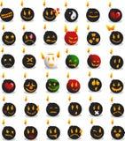 De emoties van de bom Stock Afbeeldingen