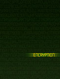 De Encryptie van gegevens Royalty-vrije Stock Foto