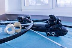 De endoscoop stock afbeelding