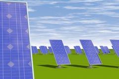 De energía solar Fotos de archivo
