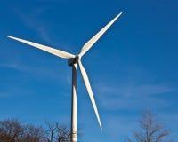 De energie van de wind Stock Foto