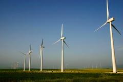 De energie van de wind Stock Fotografie