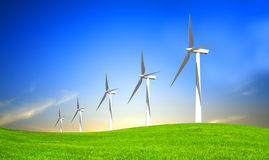 De Energie van Eco Stock Afbeelding