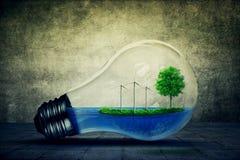 De energie van Eco Royalty-vrije Stock Fotografie
