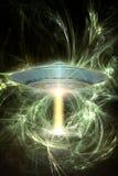 De energie van Ufo Stock Afbeeldingen