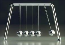 De Energiebehoud van de Newtonswieg vector illustratie