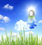 De energieconcept van Eco royalty-vrije stock foto's