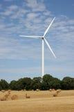 De energieinstallatie van de wind Stock Foto