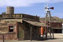 De energietubine van de wind stock afbeeldingen