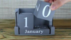 10 de enero, calendario del cubo almacen de video