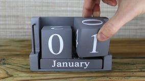 1 de enero, calendario del cubo metrajes