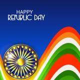 26 de enero, celebración del día de la república en la India Foto de archivo