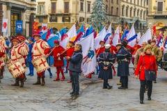 6 de enero celebración tradicional en Florencia, Italia Fotografía de archivo