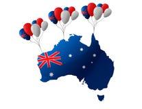 26 de enero Día de Australia Foto de archivo