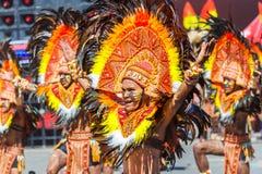24 de enero de 2016 Iloilo, Filipinas Festival Dinagyang Unid Imagen de archivo libre de regalías