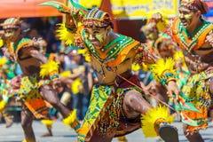 24 de enero de 2016 Iloilo, Filipinas Festival Dinagyang Unid Imagenes de archivo