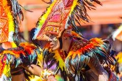24 de enero de 2016 Iloilo, Filipinas Festival Dinagyang Unid Fotografía de archivo libre de regalías