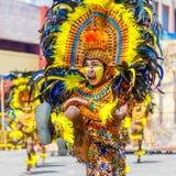 24 de enero de 2016 Iloilo, Filipinas Festival Dinagyang Unid Imagen de archivo