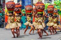 24 de enero de 2016 Iloilo, Filipinas Festival Dinagyang Unid Imágenes de archivo libres de regalías