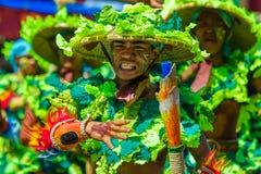 24 de enero de 2016 Iloilo, Filipinas Festival Dinagyang Unid Fotos de archivo libres de regalías