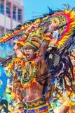 24 de enero de 2016 Iloilo, Filipinas Festival Dinagyang Unid Fotos de archivo