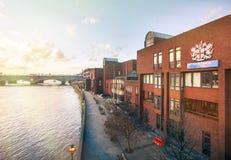 7 de enero de 2014 - Londres, Reino Unido Ciudad de la escuela de Londres fotografía de archivo