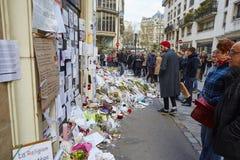 18 DE ENERO DE 2015 - PARÍS: Imagen de archivo libre de regalías