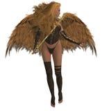 De Engel die van de boog Hulp aanbiedt Stock Fotografie
