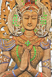 De engel snijdt, Thailand Stock Afbeelding