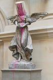 De Engel van Banksy Royalty-vrije Stock Foto's